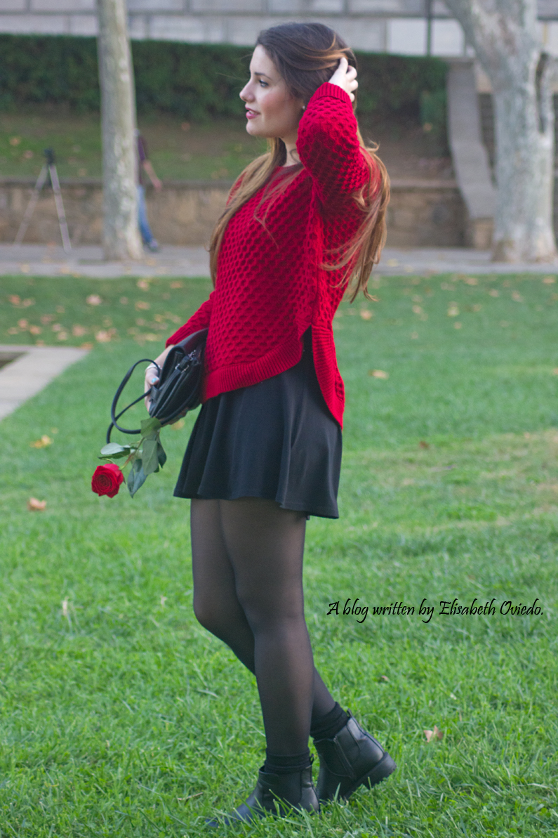 black dress y jersey rojo - HEELSANDROSES (3)