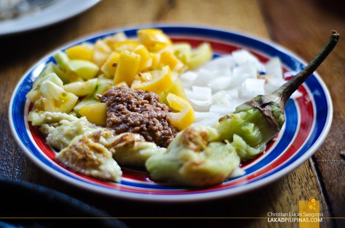 Smoke Restaurant Boracay Grilled Eggplant Salad