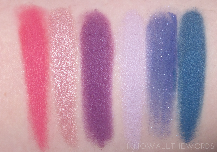 Kat Von D Mi Vida Loca Remix Eyeshadow Palette swatches review eye look (9)