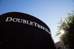 Doubletree hotel in the sun