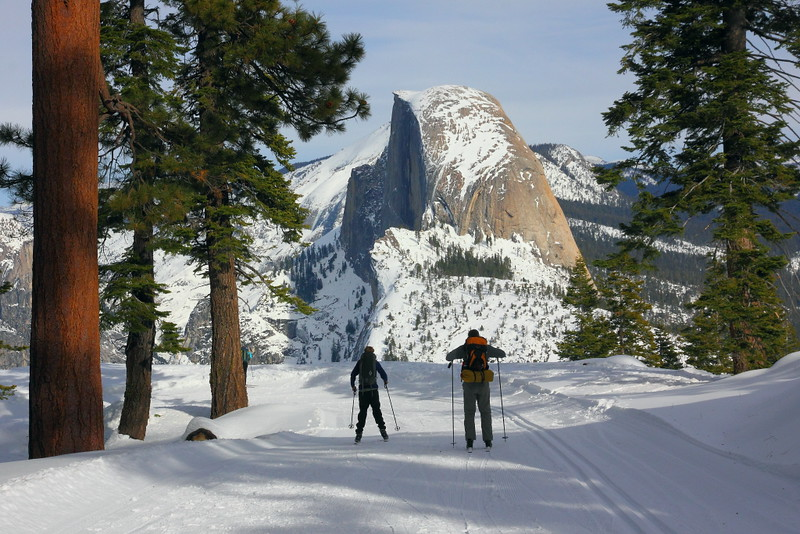 IMG_1529 Cross Country Skiing on Glacier Point Road