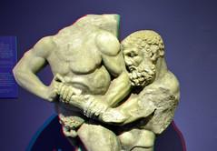 relief Hercules marble 200BC Catania 3D
