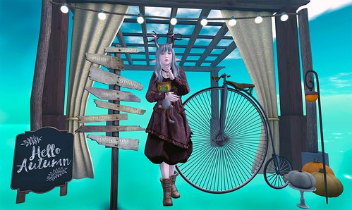 Girls and Their Bikes - The Secret Affair & WLRP & The Gacha Garden
