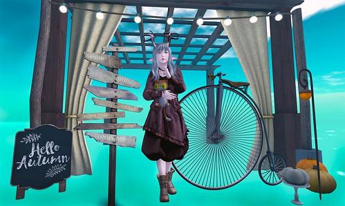 Girls and Their Bikes - The Secret Affair & WLRP & The Gacha Garden