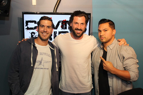 Maksim Chmerkovskiy on the Covino & Rich Show