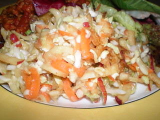 Mum's Apple Coleslaw Salad