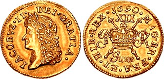 Lot 2752–IRELAND. James II