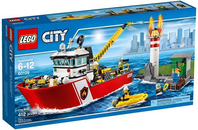 LEGO City 2016 sets   60109 - Fire Boat