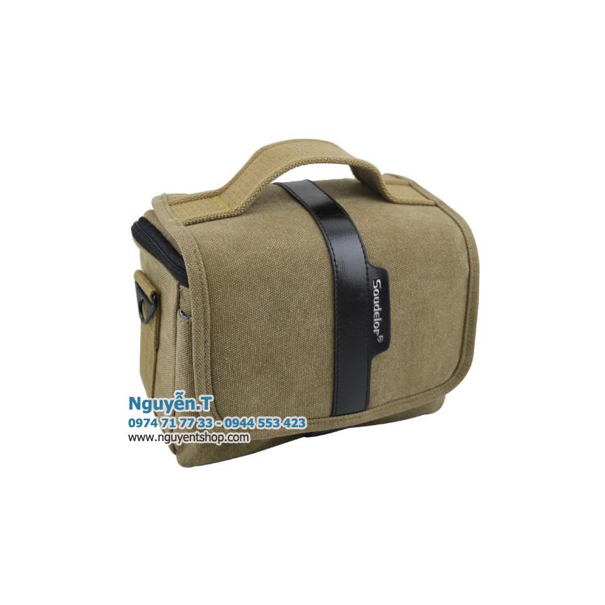 Túi đeo máy ảnh Kaki Soudelor KS1