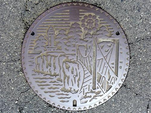 Ito Shizuoka, manhole cover 3 (静岡県伊東市のマンホール3)