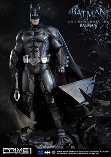 Prime 1 Studio 蝙蝠俠:阿卡漢起源【蝙蝠俠 EX 版】Batman 1/3 比例全身雕像作品