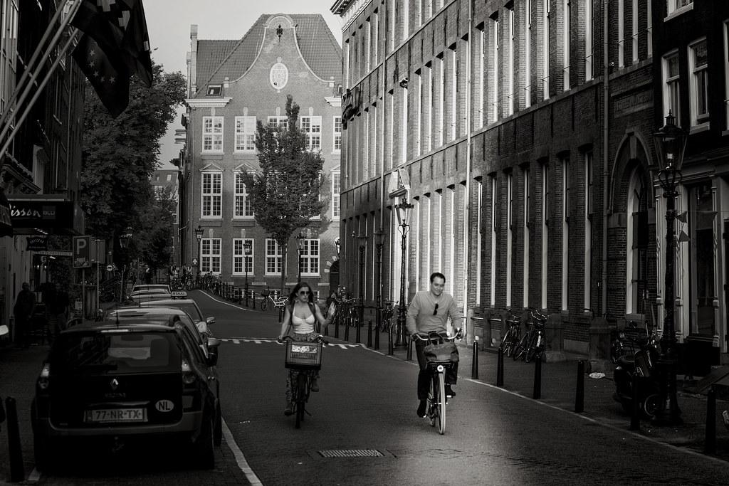 Les cyclistes d'Amsterdam