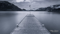 The jetty ...