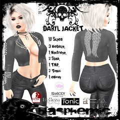 BLASPHEMIC - DARYL JACKET - AD