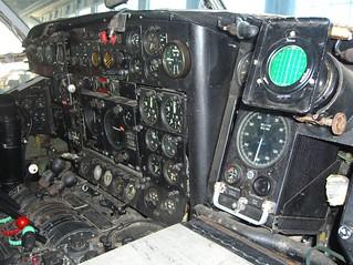 2010 RNZAF Bristol Freighter NZ5903 Instrument panel - RNZAF Museum