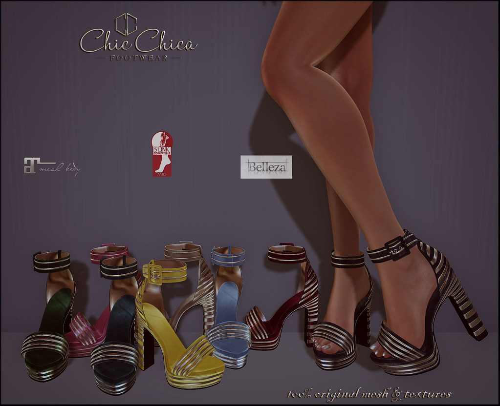 Bridget by ChicChica @ Crossroads soon - SecondLifeHub.com