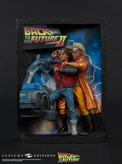《回到未來三部曲》浮雕海報 & 精裝視覺設定書 收藏限定版 Back to the Future The Ultimate Visual History Collector's Edition