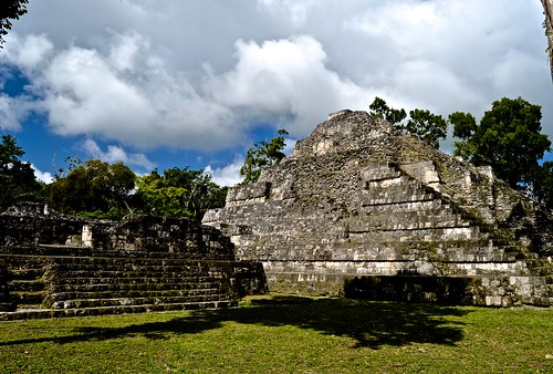 """Overseas Adventure Travel"", ""Route of the Mayas"", Guatemala, Mayan city, ruins, Yaxha, Yaxha lake"