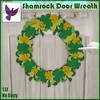 [ free bird ] Shamrock Door Wreath