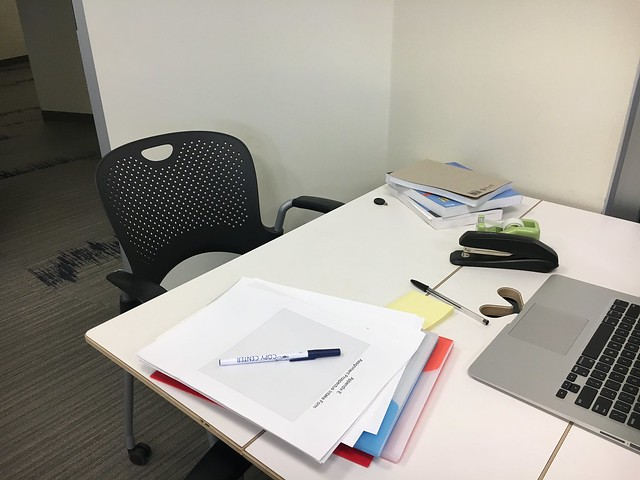 desk pre project