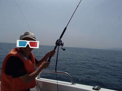 和中国朋友一起去釣魚在海上 - naniyuutorimannen - 您说什么!