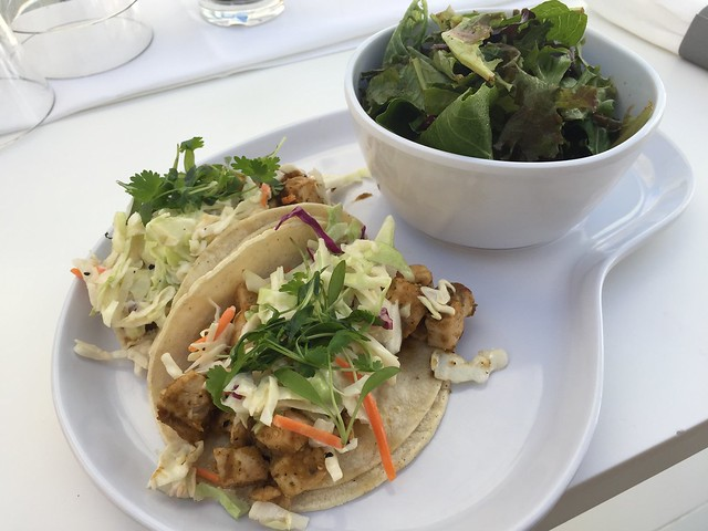 Plancha seared fish tacos - SLS Las Vegas Hotel