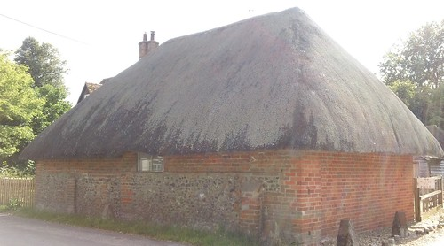 Thatched cottage,