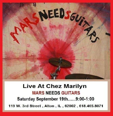 Chez Marilyn 9-19-15