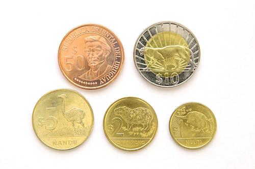 Monedas de Uruguay