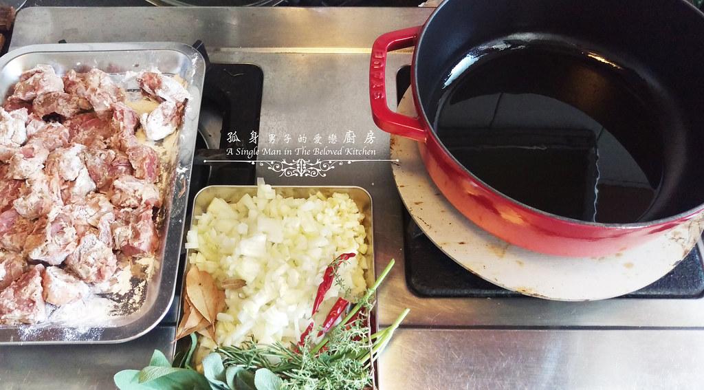 孤身廚房-香草使用不手軟!我的招牌香料燉牛肉10