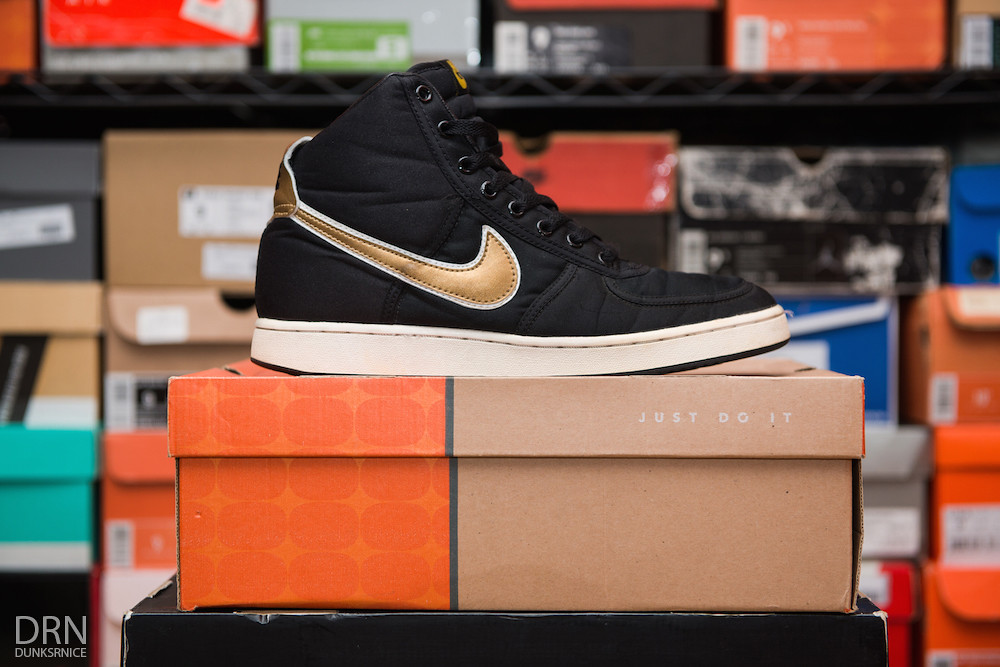 Black & Gold Vandal's.