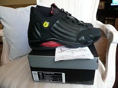 "Nike Air Jordan XIV 14 retro ""LAST SHOT"" Size 11 (2011) 311832 010"