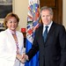 Secretary General Meets with Vice President of Honduras