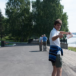 Paseo del río Yenisei