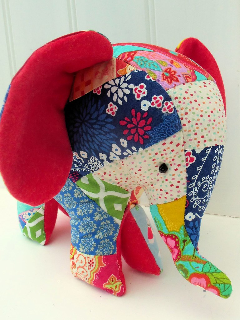 Charlie The New Patchwork Elephant Bustle Amp Sew