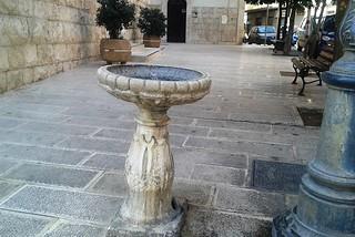 Noicattaro. Fontana Immacolata front