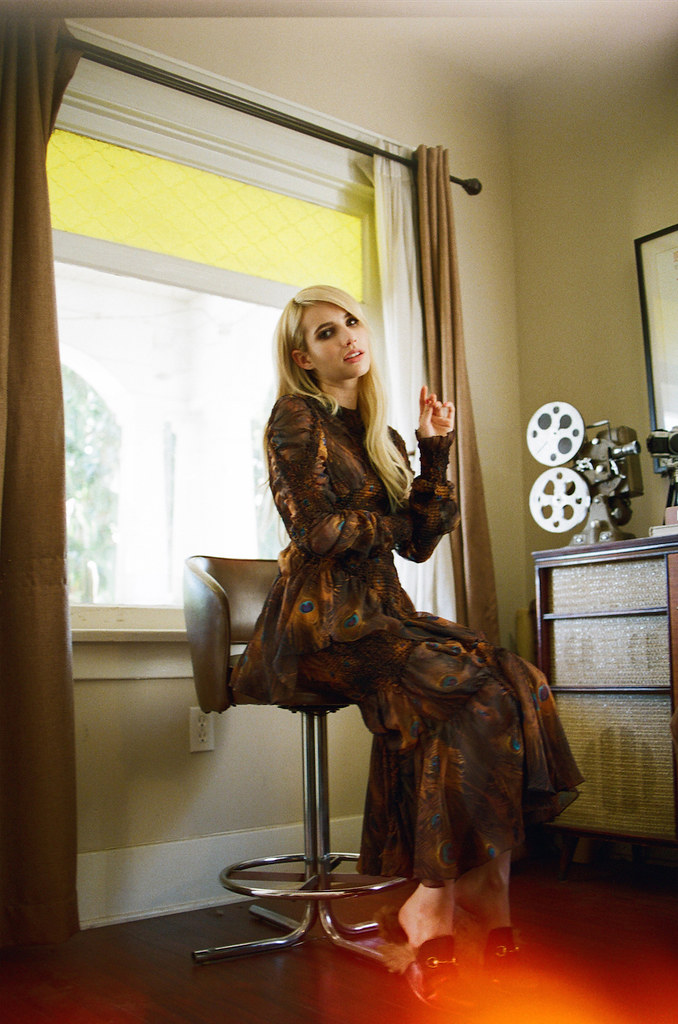 Эмма Робертс — Фотосессия для «Wonderland» 2015 – 6