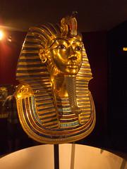 Golden bust of King Tut
