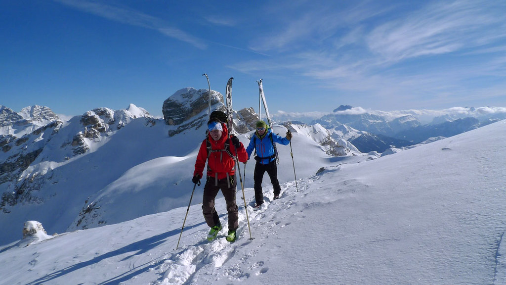 Piz Lavarela (Day 3 H.R. Dolomiti Südtirol) Dolomiti Itálie foto 10