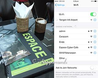 09 Yangon Airport - Espace Cafe 1