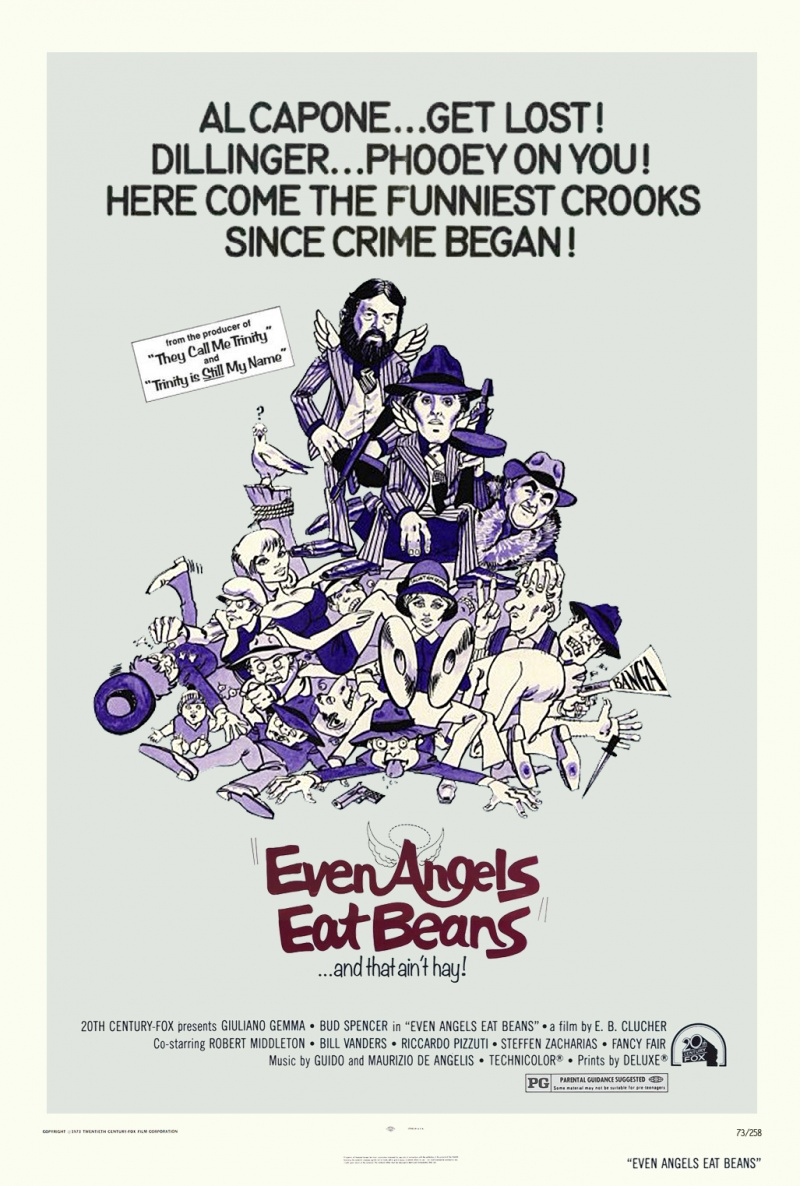 Even Angels Eat Beans (1973)