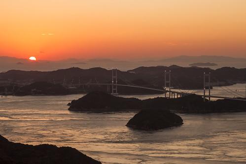 bridge sea architecture island coast ehime