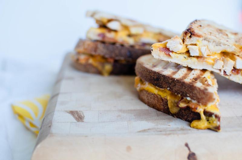 Honey Mustard Chicken and Bacon Panini 4