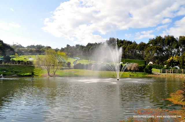 Fountain Enchanted Adventure Garden
