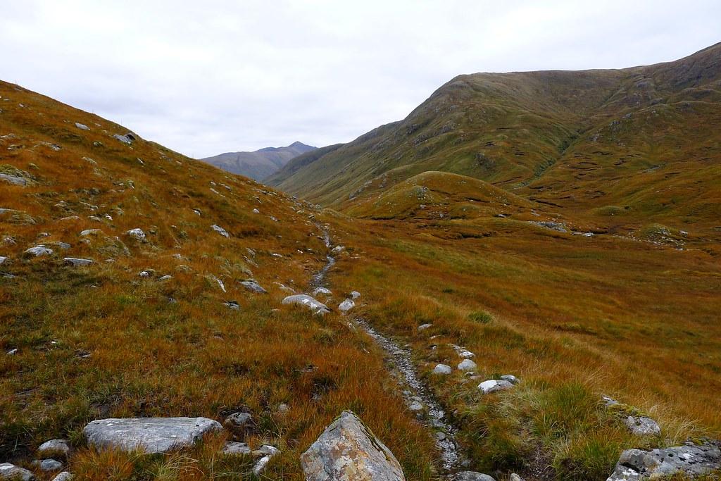 The path from Gleann Gaorsaic