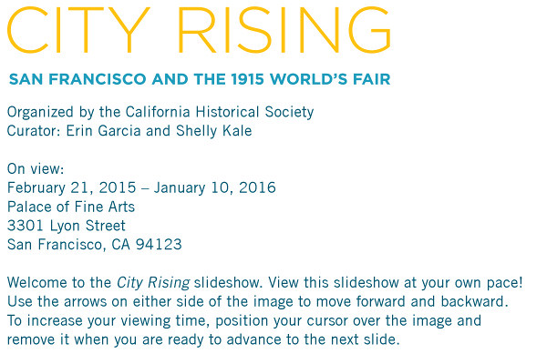 City Rising: San Francisco and the 1915 World's Fair (Palace of Fine Arts)