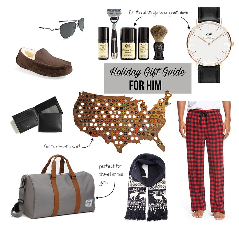 cute & little blog | holiday gift guide for guys | gift ideas for him