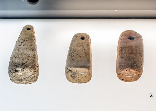 Roman terracotta loomweights from Tresminas