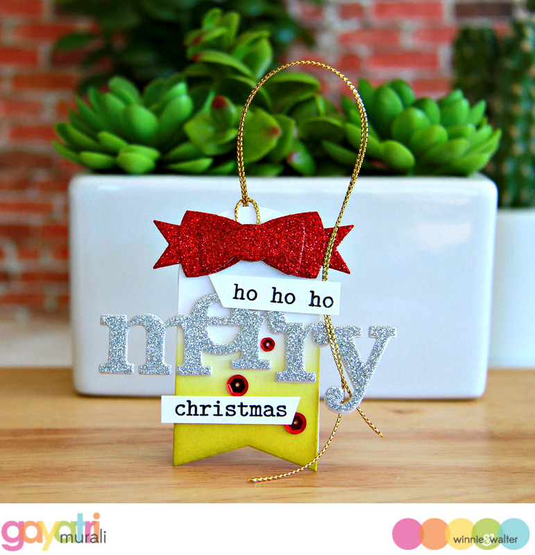 Ho ho ho Merry Christmas Tag