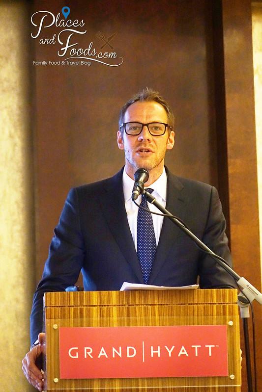 holland media event in malaysia Andrew van der Feltz